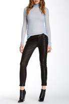 J Brand Mid Rise Stretch Genuine Leather Pant