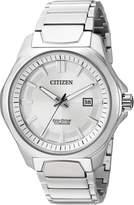 Citizen Men's ' Quartz Titanium Casual Watch, Color:d (Model: AW1540-88A)