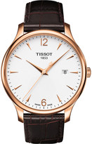 Tissot T0636103603700 T-Classic rose gold stainless steel watch