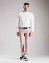 RSQ Seattle Mens Skinny Crop Tapered Stretch Chinos