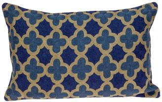 Parkland Collection Calix Blue Throw Pillow