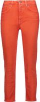 Acne Studios Patti high-rise cropped skinny jeans