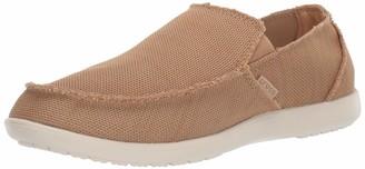 Crocs Men's Santa Cruz Downtime Slip On Loafer|Casual Comfortable Travel Shoe