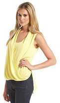 Vince Camuto Sleeveless Wrap Front Blouse