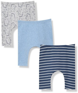 M&Co Animal stripe leggings three pack (Newborn-18mths)