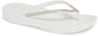 FitFlop iQushion(TM) Splash Crystal Flip Flop