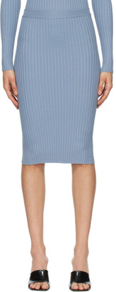 giu giu Blue Nonna Tube Skirt