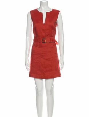 Veronica Beard Linen Mini Dress w/ Tags Orange