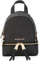 MICHAEL Michael Kors removable straps mini backpack - women - Leather - One Size