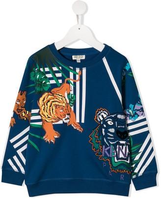 Kenzo Kids Jungle Print Sweatshirt