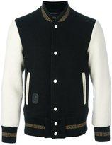 Marc Jacobs bi-colour varsity jacket
