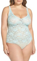 Cosabella Plus Size Women's Lace Thong Teddy