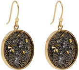 Reiss Marcey Earrings With Crystals From Swarovski