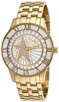 Thierry Mugler Women's Gold-Tone Stainless Steel White Dial