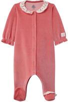 Petit Bateau Velvet pyjamas