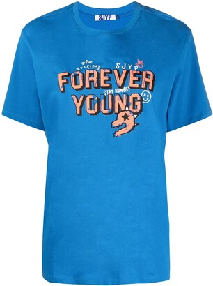 Sjyp Forever Young half-sleeve t-shirt