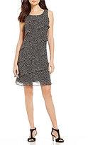 Jessica Howard Asymmetrical Tiered Dress