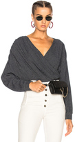 Rachel Comey Francis Sweater in Blue.