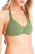 Seafolly NEW D Cup Tri Bra Khaki