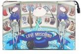 Love Moschino Graphic Print Evening Bag