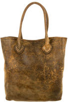Michael Kors Distressed Suede Tote