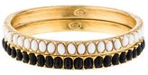 Kenneth Jay Lane Resin Bead Bangle Set