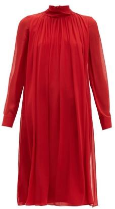 Max Mara Rugiada Dress - Womens - Red