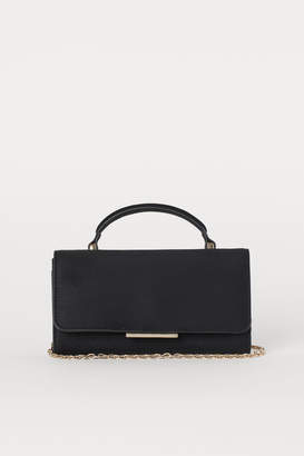H&M Small Bag with Shoulder Strap - Black