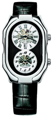 Philip Stein Teslar 12a-SKB-abUnisex WatchAnalogueAutomaticWhite DialLeather Bracelet