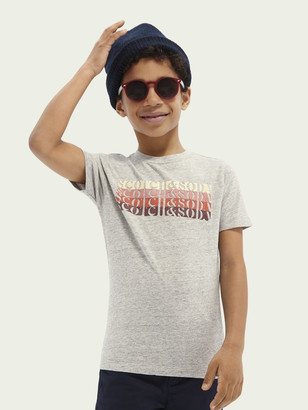 Scotch & Soda Cotton logo T-shirt | Boys