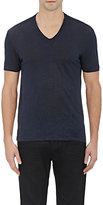 John Varvatos Men's Basic V-Neck T-Shirt-NAVY