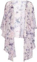 Gina Bacconi Soft water colour chiffon shawl