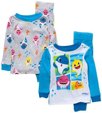 AME Baby Shark Cotton Pajama Set - Set of 2