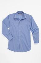 John Varvatos Dress Shirt (Big Boys) Blue 14