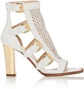 Christian Louboutin Women's Fencing Leather Gladiator Sandals