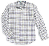 Thomas Dean Plaid Dress Shirt (Big Boys)