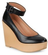 Robert Clergerie Leather Wedge Dress Shoes