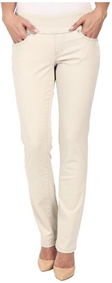 Jag Jeans Peri Pull-On Straight Leg Pants in Bay Twill