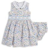 Iris & Ivy Floral Dress and Bloomers Set