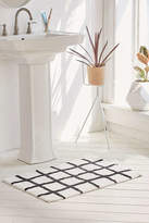 Urban Outfitters Wonky Grid Bath Mat