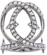 Loree Rodkin Spiked Diamond Loop Ring