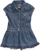 GUESS Girls Dress, Little Girls Shirtdress