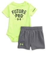 Under Armour Infant Boy's Future Pro Heatgear Bodysuit & Shorts Set