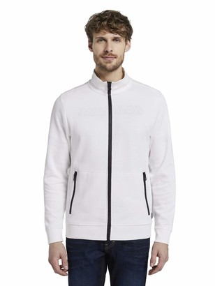 Tom Tailor Men's Zipper Sweatjacket Sweatshirt