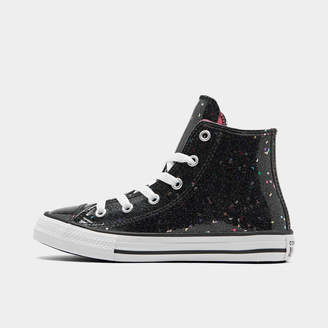 Converse Girls' Little Kids' Chuck Taylor Galaxy Glimmer High Top Casual Shoes
