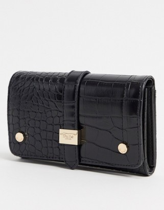 Dune Kophie Croc Effect Purse