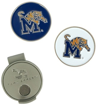 Unbranded Memphis Tigers Hat Clip & Ball Markers Set
