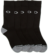 Oakley Men's Performance Basic Crew Sock 5-Pack