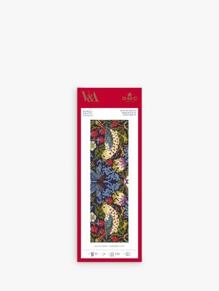DMC Strawberry Thief Bookmark Cross Stitch Kit