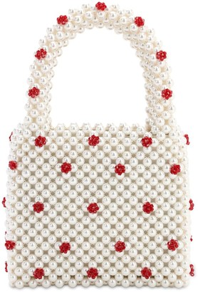 Shrimps Dolly Beaded Top Handle Bag